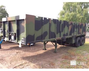Southwest Truck Body M871 T/A Flatbed Trailer