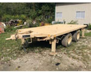 Utility Tool & Body M161A1 T/A Flatbed Trailer