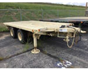 Utility Tool & Body XM1061E1 T/A Flatbed Trailer