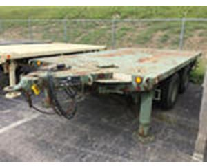 Utility Tool & Body XM161E1 T/A Flatbed Trailer