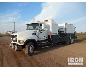 Mack CV713 Hot Oil Truck