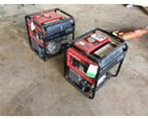Lot of (2) Honda EB3 Generators