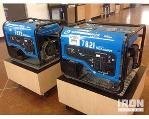 Lot of (2) Tsurumi TPG4-6HDX Generators