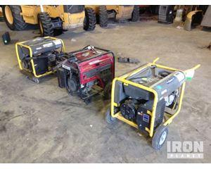 Lot of (3) Generators