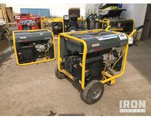 Lot of (2) Wacker Neuson GP56A 5.6 kW Generators