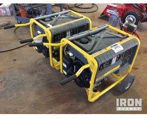 Lot of (2) Wacker Neuson GP66A Generators
