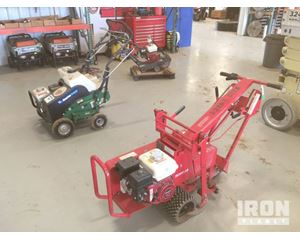 Lot of (1) Sod Cutter & (1) Aerator