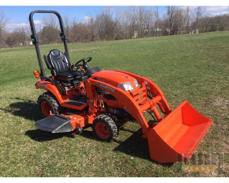 2015 kubota bx2370 4x4 lawn tractor for sale pleasanton for Garden implements list