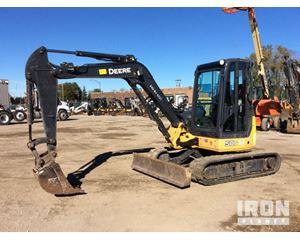 John Deere 50D Mini Excavator