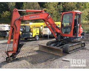 (unverified) Kubota KX121-3S Mini Excavator