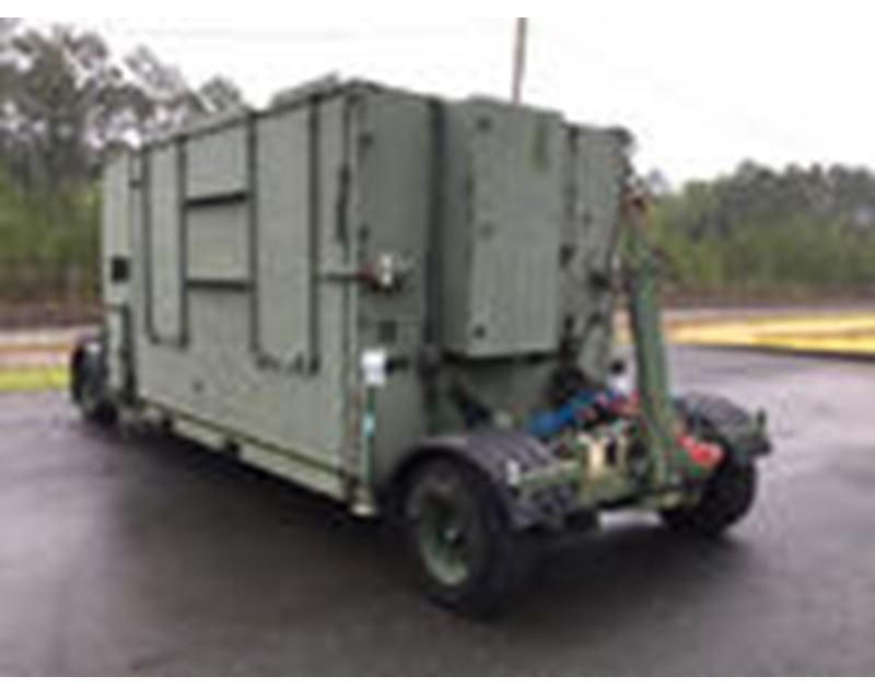 Mobile Shelter Systems : Aar mobility systems expandable mobile shelter for