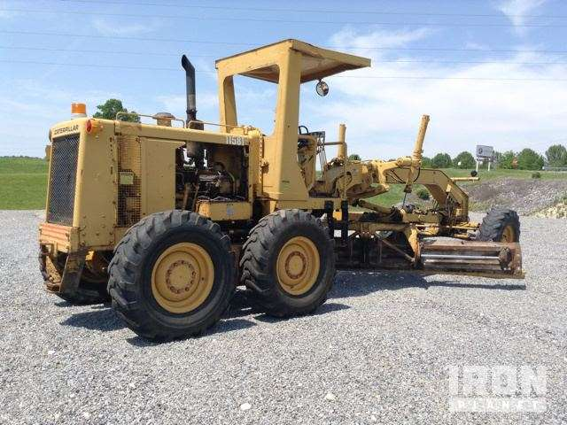 Cat 12g Motor Grader For Sale 9 288 Hours Grand Rivers
