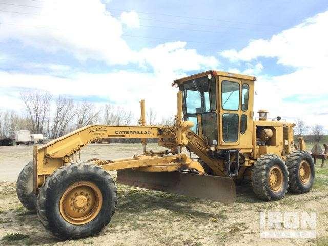 Cat 140g Motor Grader For Sale 2 696 Hours Billings Mt