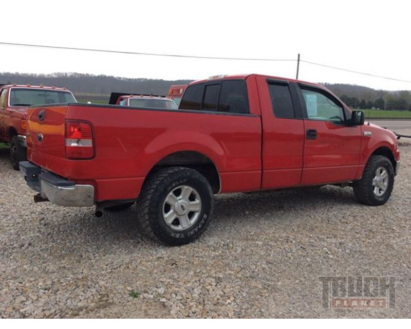 2004 Ford F 150 XLT Triton 4x4 Extended Cab For Sale
