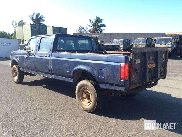 1994 ford f 350 xl 4x4 crew cab pickup for sale pearl harbor hi 9023152. Black Bedroom Furniture Sets. Home Design Ideas
