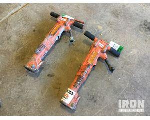 Lot of (2) APT M16 Pneumatic Breakers