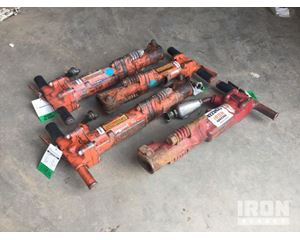 Lot of (4) Pneumatic Breakers