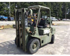 Hyster H4XLM Pneumatic Tire Forklift