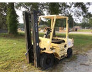 Hyster H6XM Pneumatic Tire Forklift