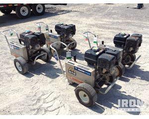 Lot of (4) Mi-T-M CBA-354-MHB Pressure Washers