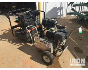 Lot of (1) Mi-T-M Hot Water & (2) Cold Water Pressure Washers