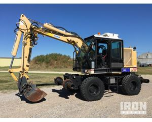 Geismar KGT-4RS Road-Rail Excavator