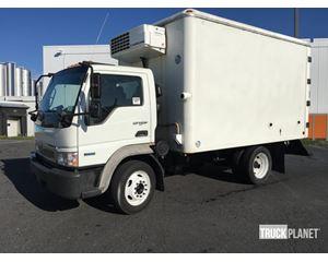 International CF500 Refrigerated Truck