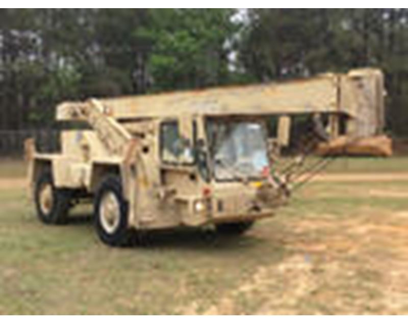 Lorain Rough Terrain Crane : Koehring lorain amc rough terrain crane for sale