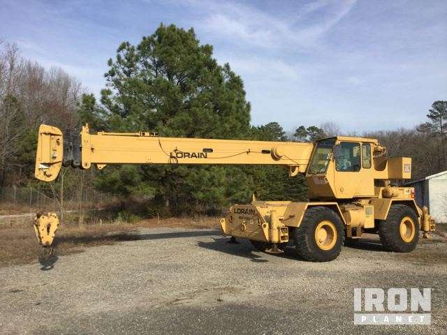 Lorain Rough Terrain Crane : Koehring lorain lrt d rough terrain crane for sale
