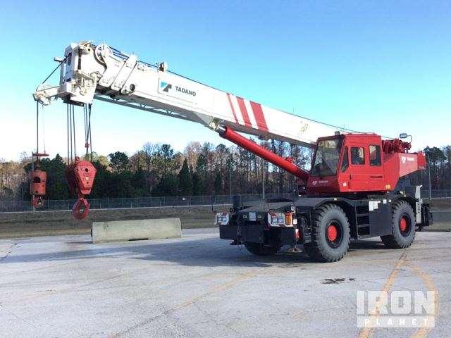 Tadano Rough Terrain Cranes : Tadano tr xl rough terrain crane for sale hours