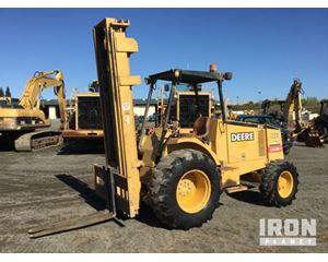 John Deere 488E Rough Terrain Forklift