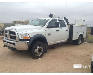 Dodge Ram 4500 Heavy Duty 4x4 Service Truck w/ Crane