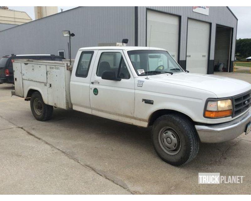 1996 ford f 250 xl super duty service truck for sale pleasanton ca. Black Bedroom Furniture Sets. Home Design Ideas