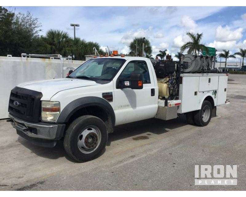 2008 ford f 550 xl super duty 4x4 service truck for sale. Black Bedroom Furniture Sets. Home Design Ideas