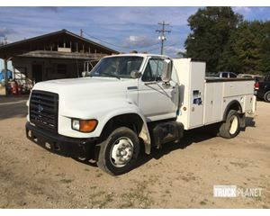 Ford F-800 S/A Utility Truck