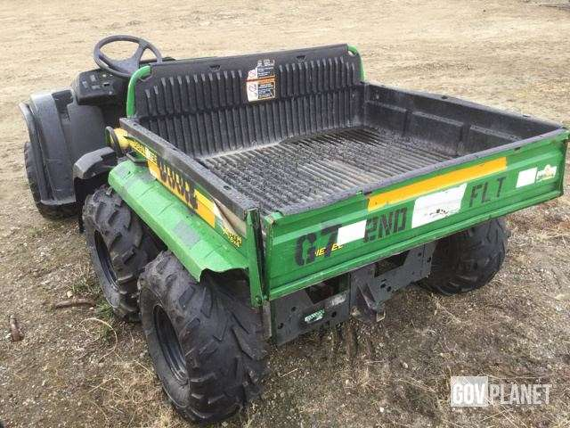 john deere gator th 6x4 utility vehicle for sale fort wainwright ak 9107327. Black Bedroom Furniture Sets. Home Design Ideas