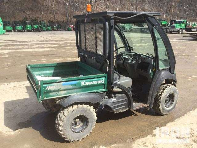 2011 unverified kawasaki mule 610 4x4 utility vehicle for sale 1 520 hours pittsburgh pa. Black Bedroom Furniture Sets. Home Design Ideas