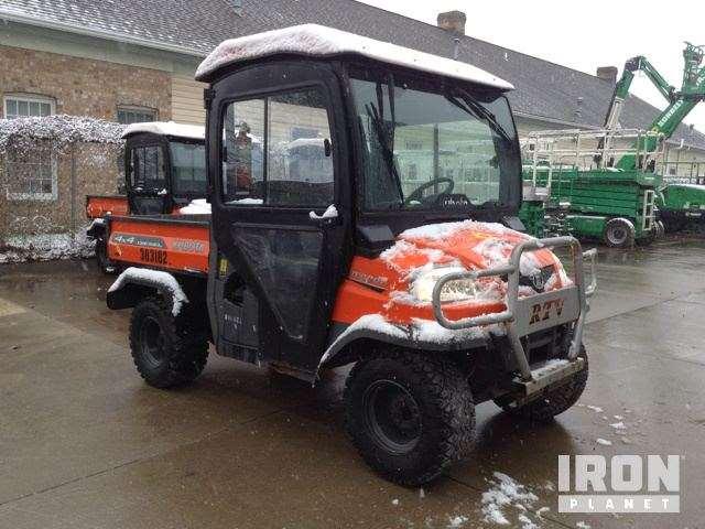 2011 Kubota Rtv900 : Kubota rtv utility vehicle for sale