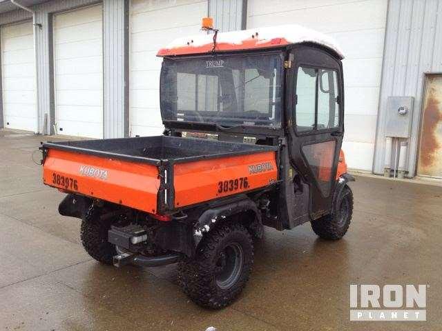 2011 Kubota Rtv900 : Kubota rtv utility vehicle for sale hours