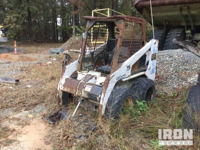 Bobcat 753 Skid-Steer Loader For Sale, 3,863 Hours | Holly