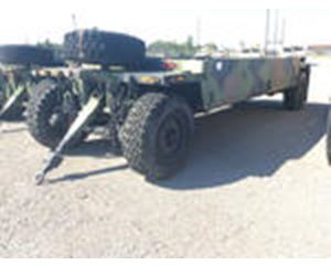 DRS Sustainment Systems M989A1 Heavy Expanded Mobility Ammunition Trailer