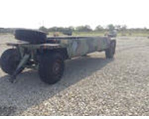 Systems & Electronics M989A1 Heavy Expanded Mobility Ammunition Trailer
