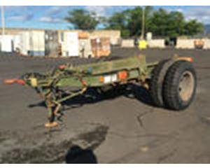 US ARMY Tank Automotive Command M2A1 Generator Trailer