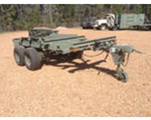 US ARMY Tank Automotive Command M796 Bolster Trailer