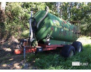 Balzer 26 T/A Vacuum Tanker Trailer