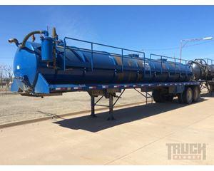 Galyean 130BBL T/A Vacuum Tanker Trailer