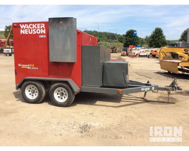 2011 Unverified Wacker Neuson E3000 Ground Heater For