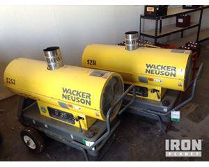 Lot of (2) Wacker Neuson HI2D Space Heaters