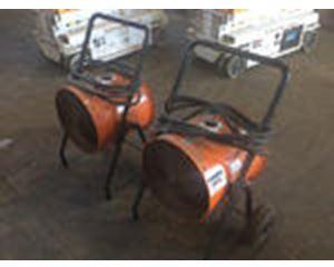 Lot of (2) Dayton 1RKT2A Space Heaters