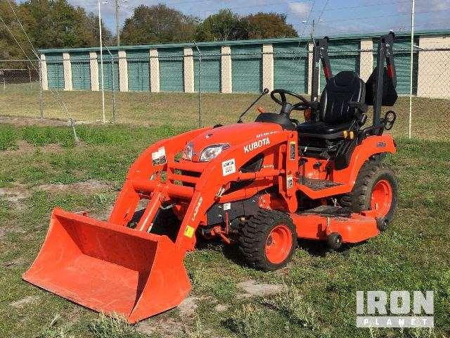 2015 unverified kubota bx2370 4x4 farm tractor for sale 105 hours land o lakes fl. Black Bedroom Furniture Sets. Home Design Ideas